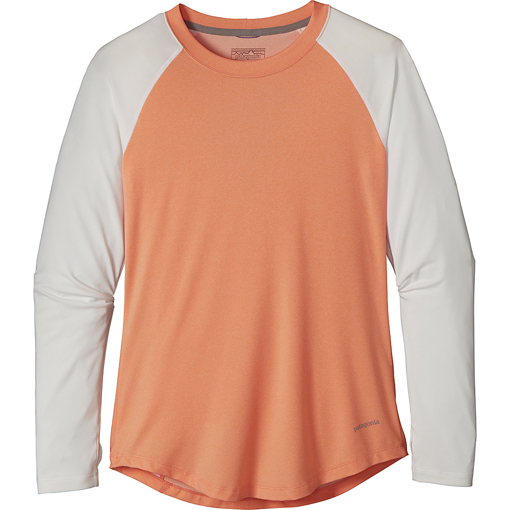 Patagonia Womens Tropic Comfort Crew XS - Lite Cusco Orange - Patagonia Womens Apparel - Apparel & Footwear, Women's Apparel