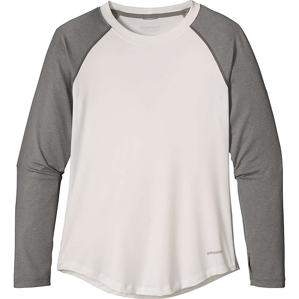 Patagonia Womens Tropic Comfort Crew XS - White - Patagonia Womens Apparel - Apparel & Footwear, Women's Apparel