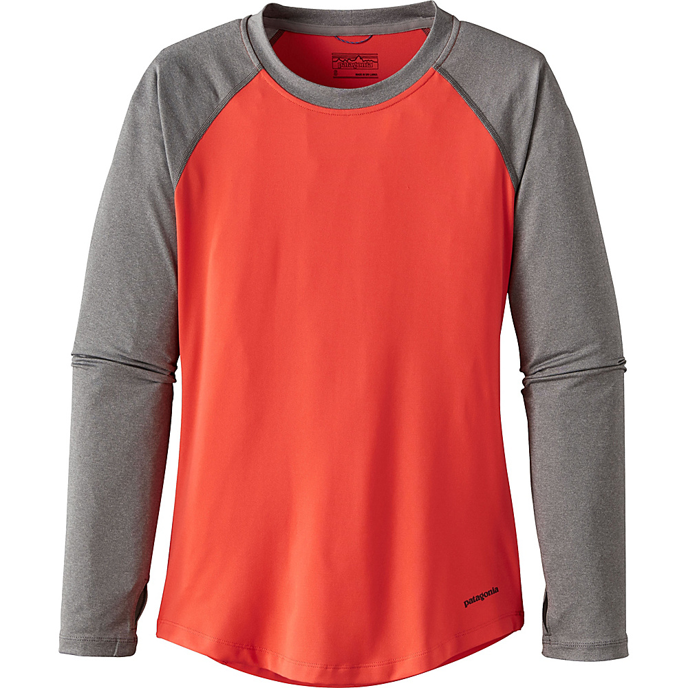 Patagonia Womens Tropic Comfort Crew XL - Carve Coral - Patagonia Womens Apparel - Apparel & Footwear, Women's Apparel