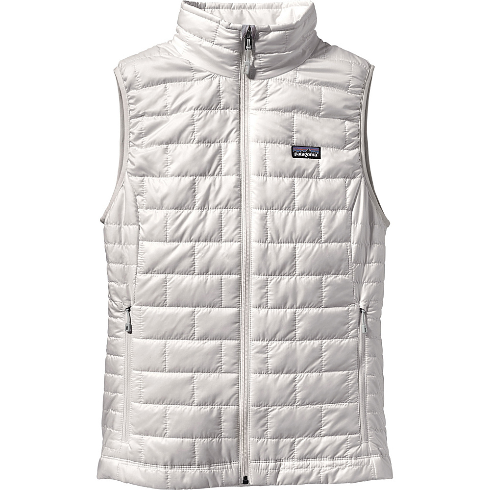 Patagonia Womens Nano Puff Vest S - Birch White - Patagonia Womens Apparel - Apparel & Footwear, Women's Apparel