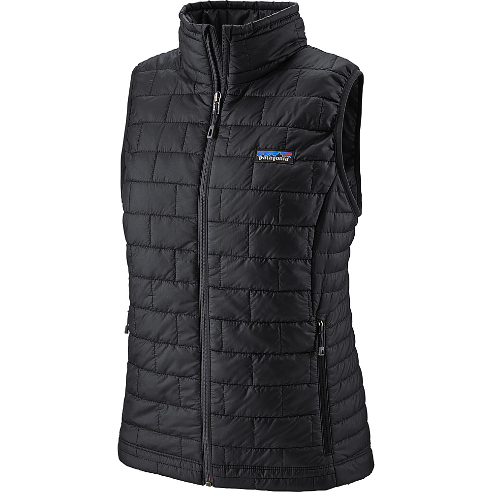 Patagonia Womens Nano Puff Vest S - Black - Patagonia Womens Apparel - Apparel & Footwear, Women's Apparel