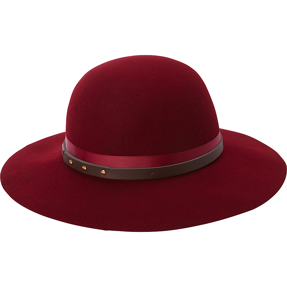 Betmar New York Hayden Floppy Hat One Size - Cranberry - Betmar New York Hats/Gloves/Scarves
