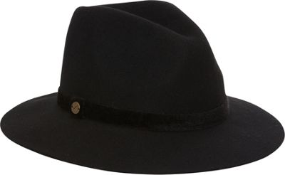Karen Kane Hats Fedora with Lux Band One Size - Black Twe...