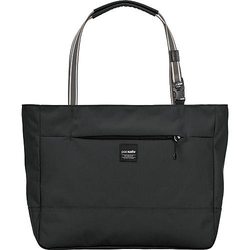 Pacsafe RFID Slingsafe LX250 Anti-Theft Tote Black - Pacsafe Fabric Handbags