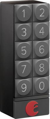 August Home Smart Keypad Dark Gray - August Home Smart Home Automation