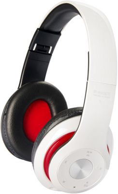 Koolulu Bluetooth Premium Headphone with Equalizer White - Koolulu Headphones & Speakers