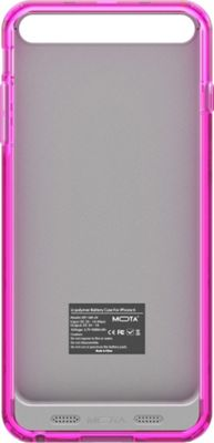 Mota Extended Battery Case iPhone 6 Pink - Mota Electronic Cases