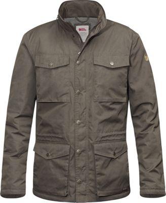Fjallraven Raven Winter Jacket S - Mountain Grey - Fjallraven Men's Apparel