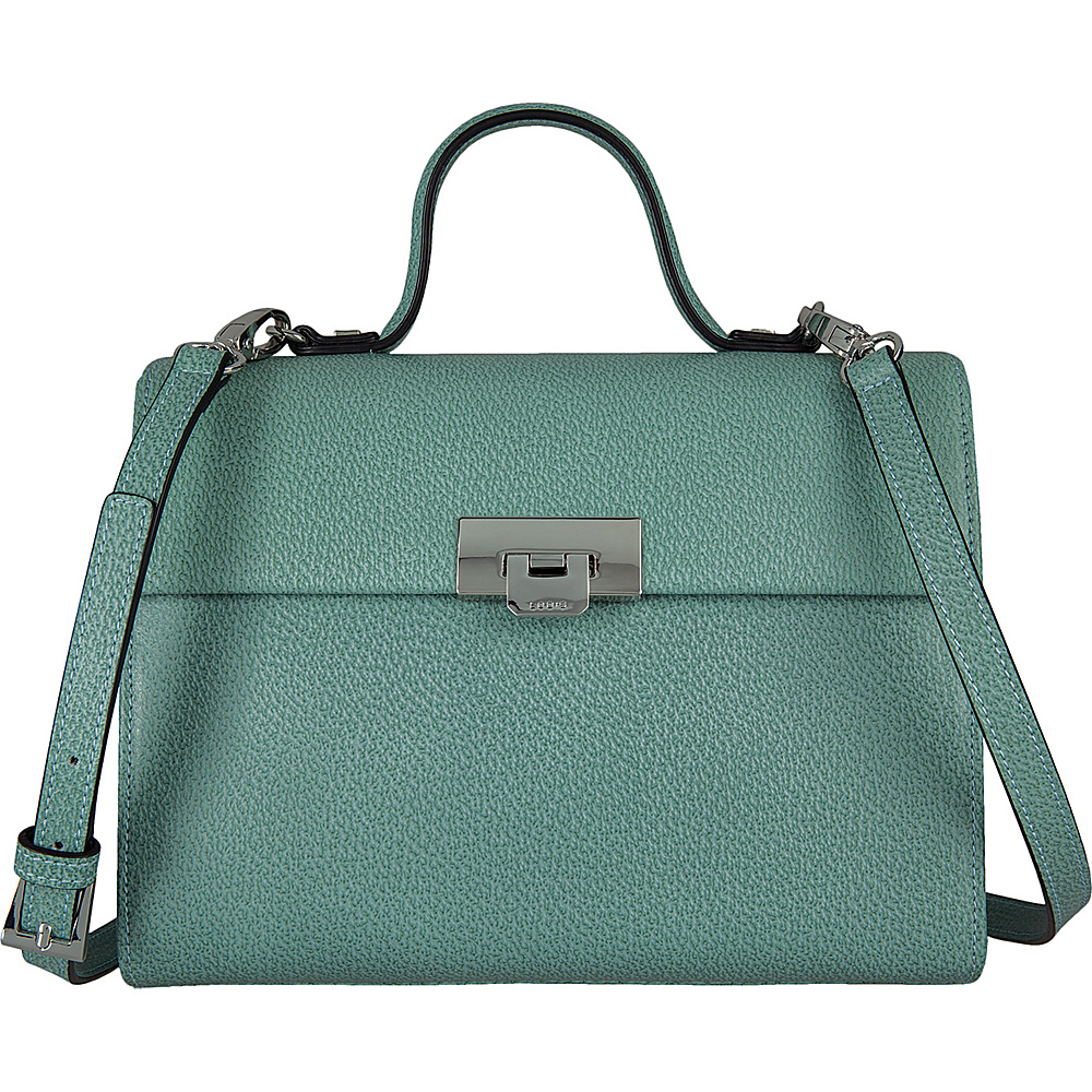 Lodis Stephanie Under Lock and Key Bree Medium Crossbody Ocean - Lodis Leather Handbags - Handbags, Leather Handbags
