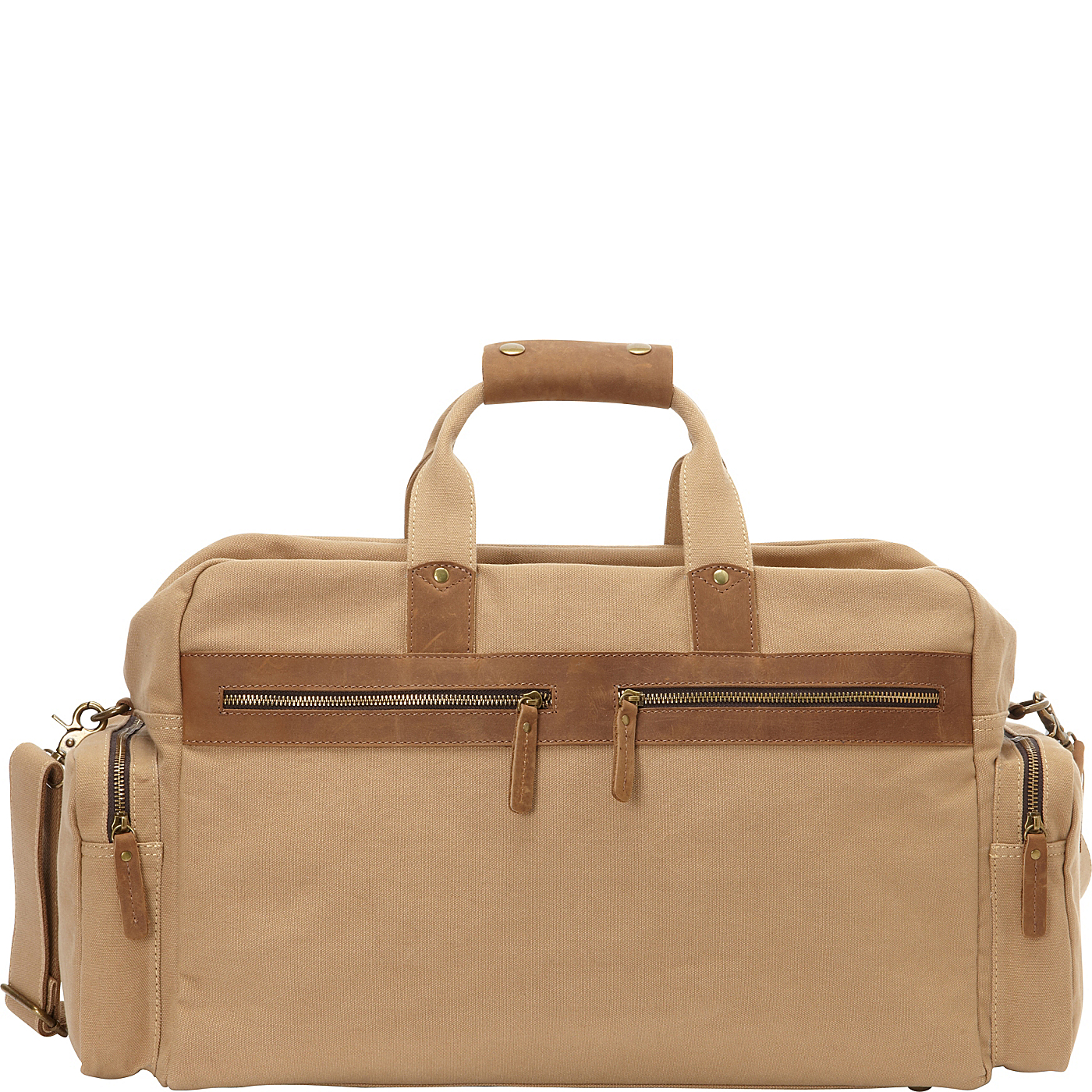 3ebe3179e7fa Vagabond Traveler Classic Large Canvas Duffle Travel Bag on PopScreen