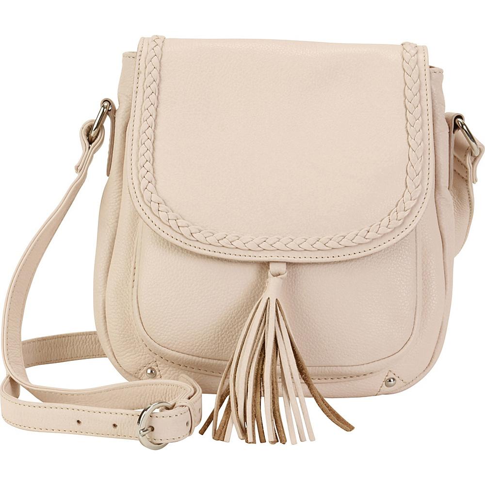 Hadaki Saddle Crossbody Rose Petal - Hadaki Leather Handbags - Handbags, Leather Handbags