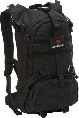 Fox Outdoor Elite Exclusionary Hydration Pack Black - Fox Outdoor Hydration Packs and Bottles