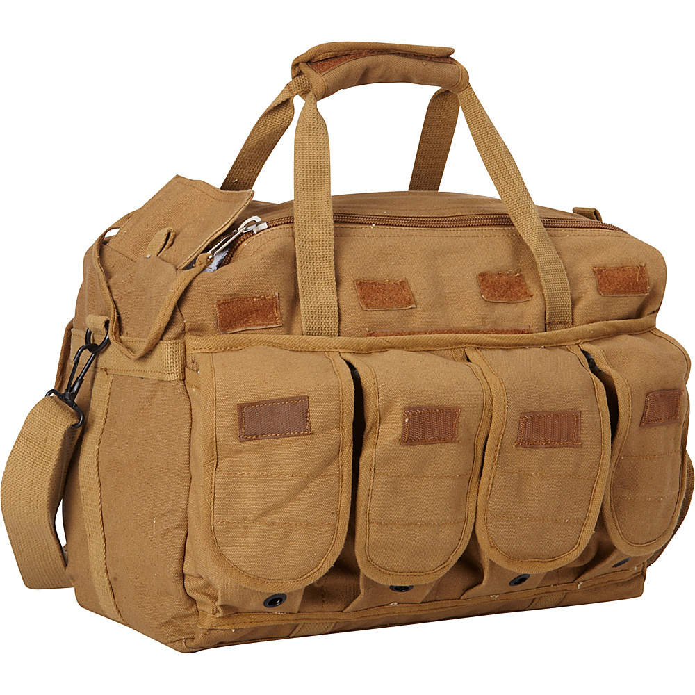 Fox Outdoor Mega Mag Shooter s Bag Coyote Brown Fox Outdoor Outdoor Duffels