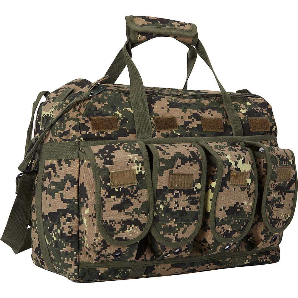 Fox Outdoor Mega Mag Shooter s Bag Digital Woodland Fox Outdoor Outdoor Duffels