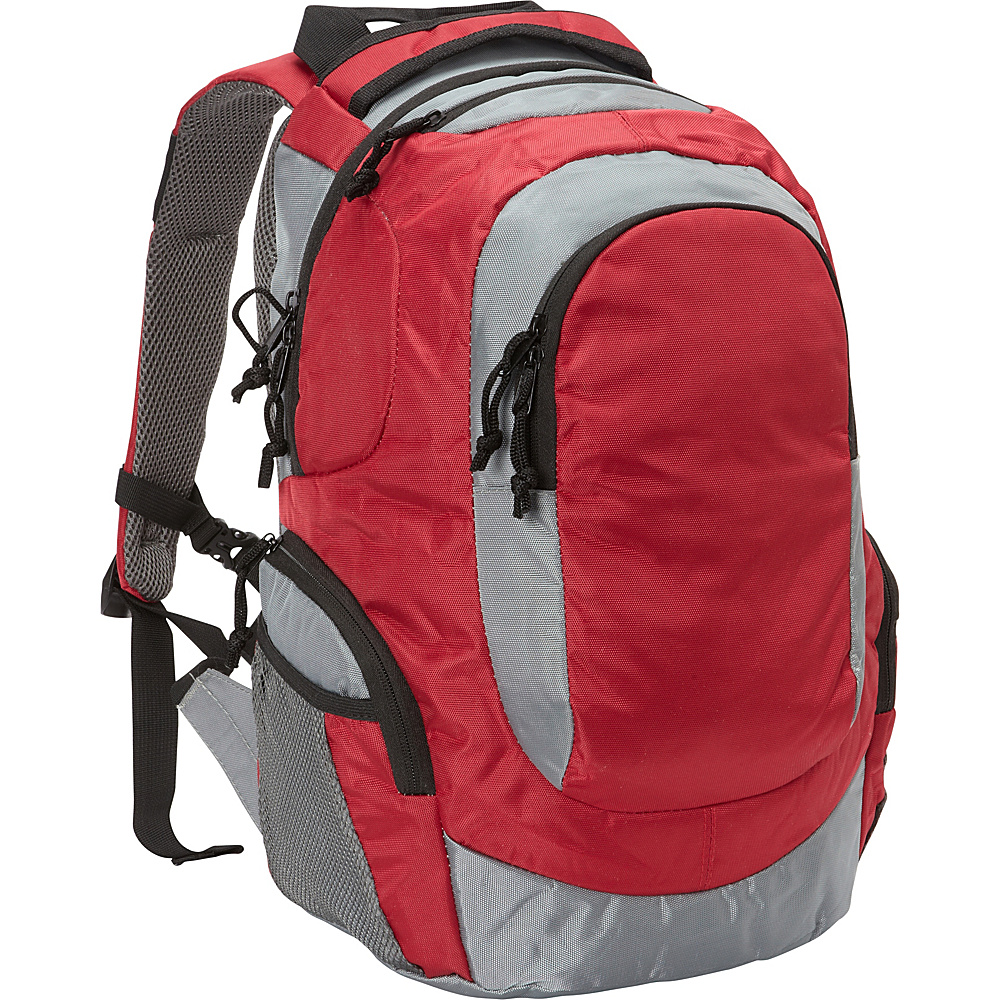 Fox Outdoor Jogger Fitness Pack Burgundy Fox Outdoor Everyday Backpacks