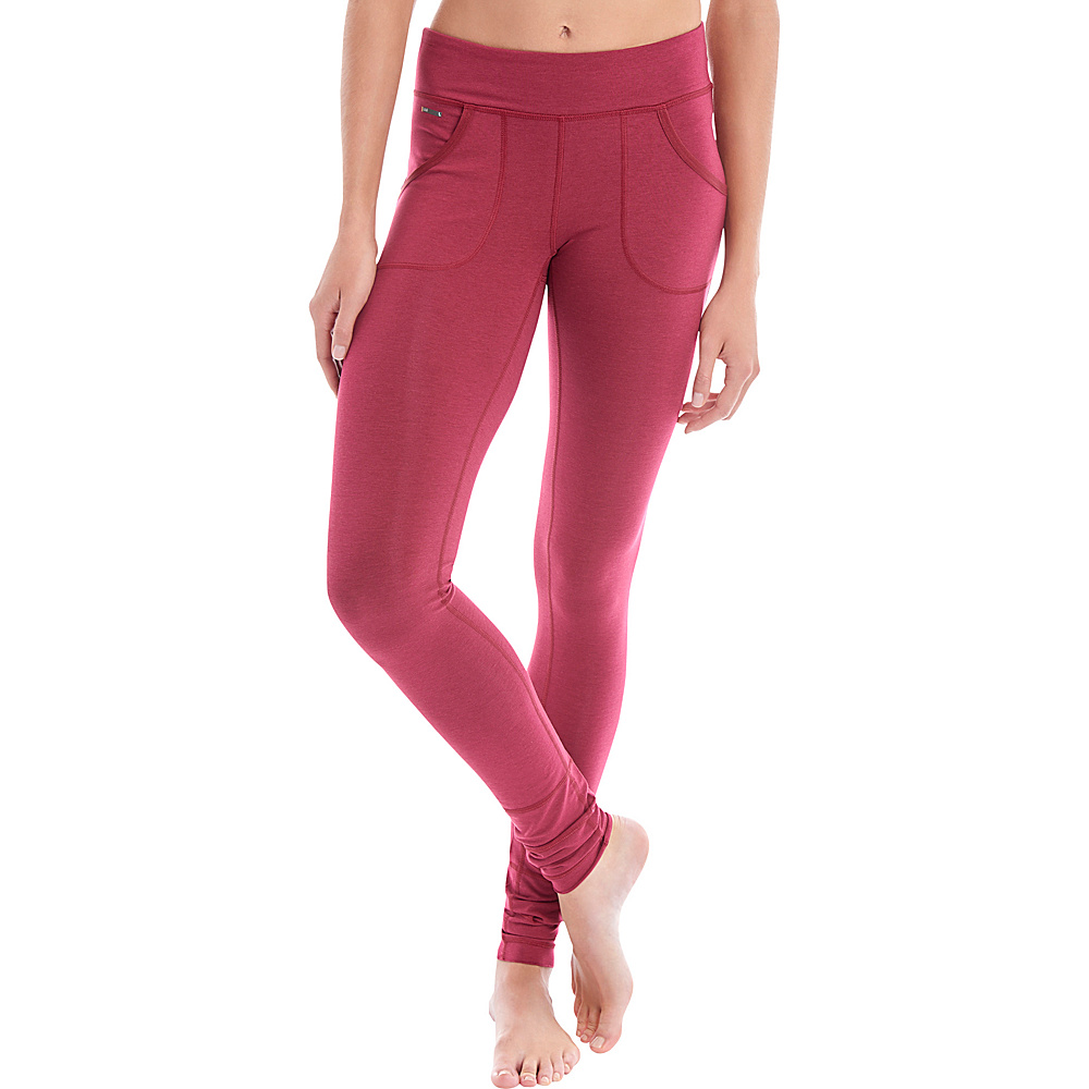 Lole Salutation Leggings XS - Rumba Red - Lole Womens Apparel - Apparel & Footwear, Women's Apparel