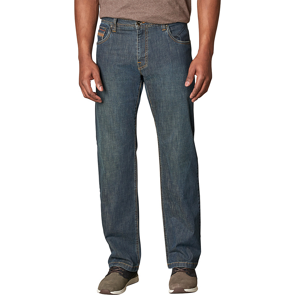 PrAna Axiom Jean 36 Inseam 30 - Antique Stone Wash - PrAna Mens Apparel - Apparel & Footwear, Men's Apparel