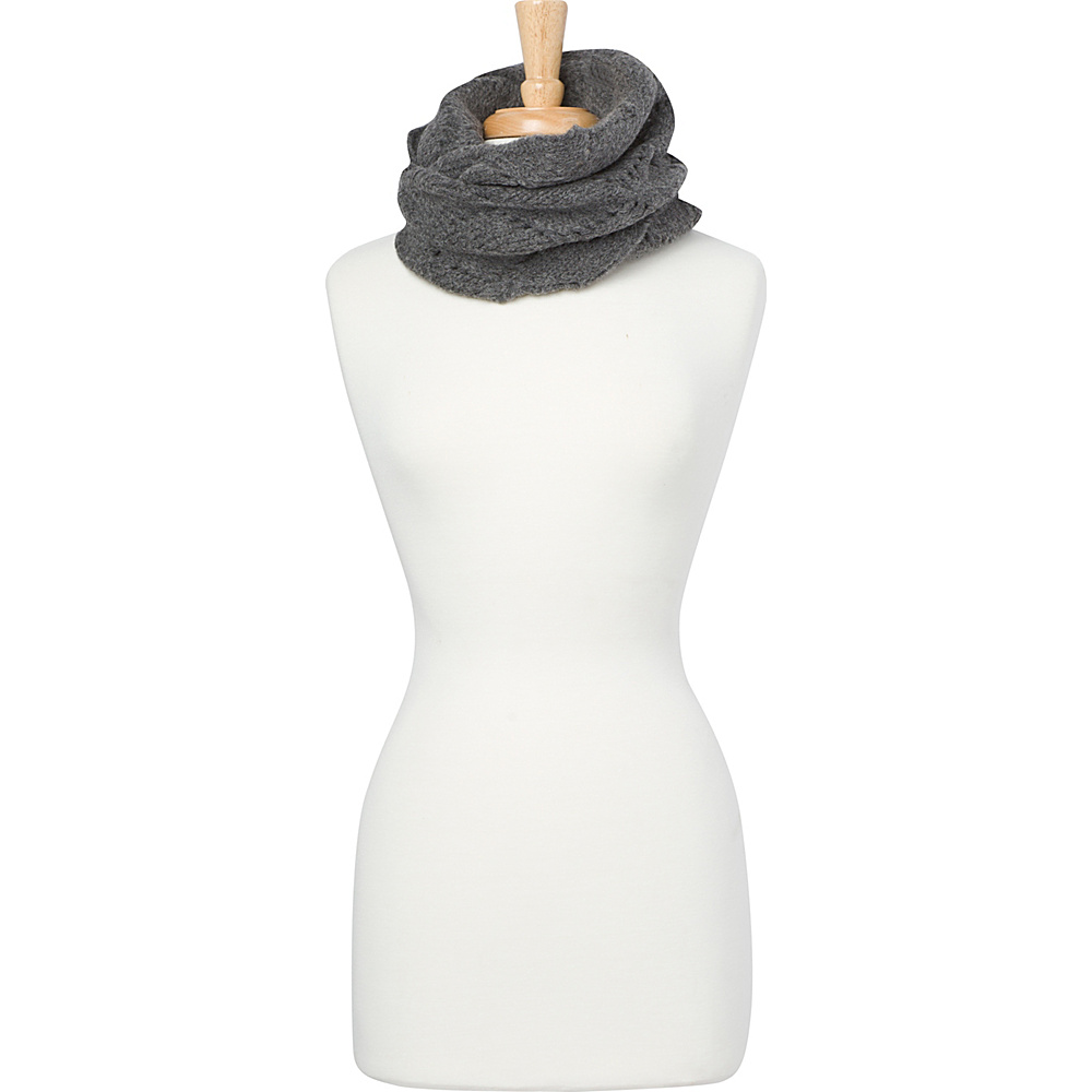 PrAna Tawnie Scarf Coal - PrAna Hats/Gloves/Scarves - Fashion Accessories, Hats/Gloves/Scarves