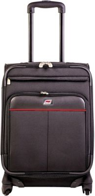 Andare Milan 24 inch 8 Wheel Spinner Upright Black - Andare Softside Checked