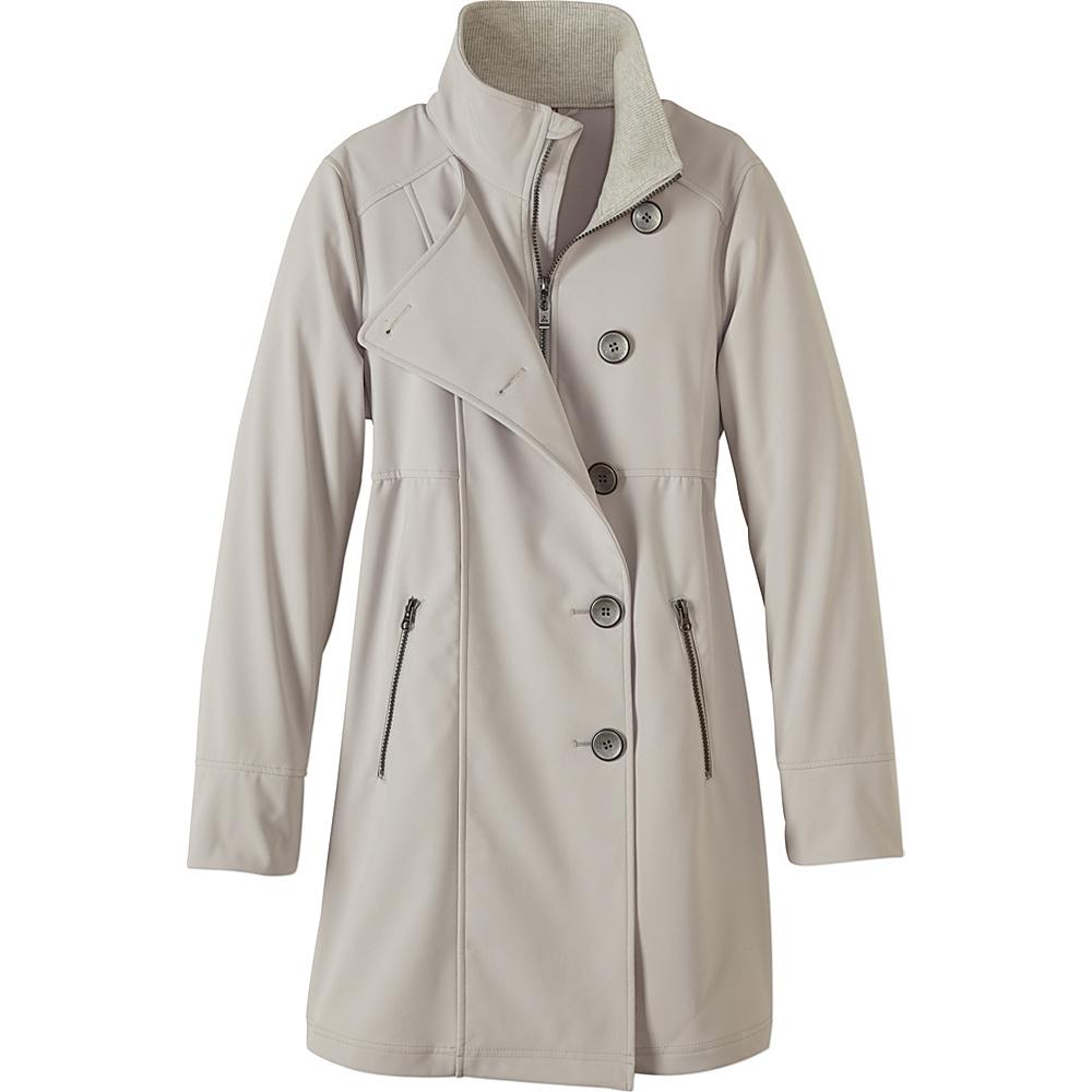 PrAna Martina Long Jacket L - Sand - PrAna Womens Apparel - Apparel & Footwear, Women's Apparel