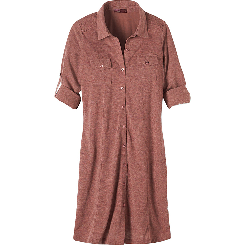 PrAna Besha Dress XL - Deep Marsala - PrAna Womens Apparel - Apparel & Footwear, Women's Apparel