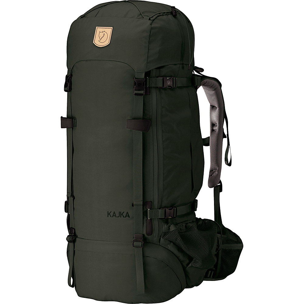 Fjallraven Kajka Backpack 75W Forest Green - Fjallraven Day Hiking Backpacks - Outdoor, Day Hiking Backpacks