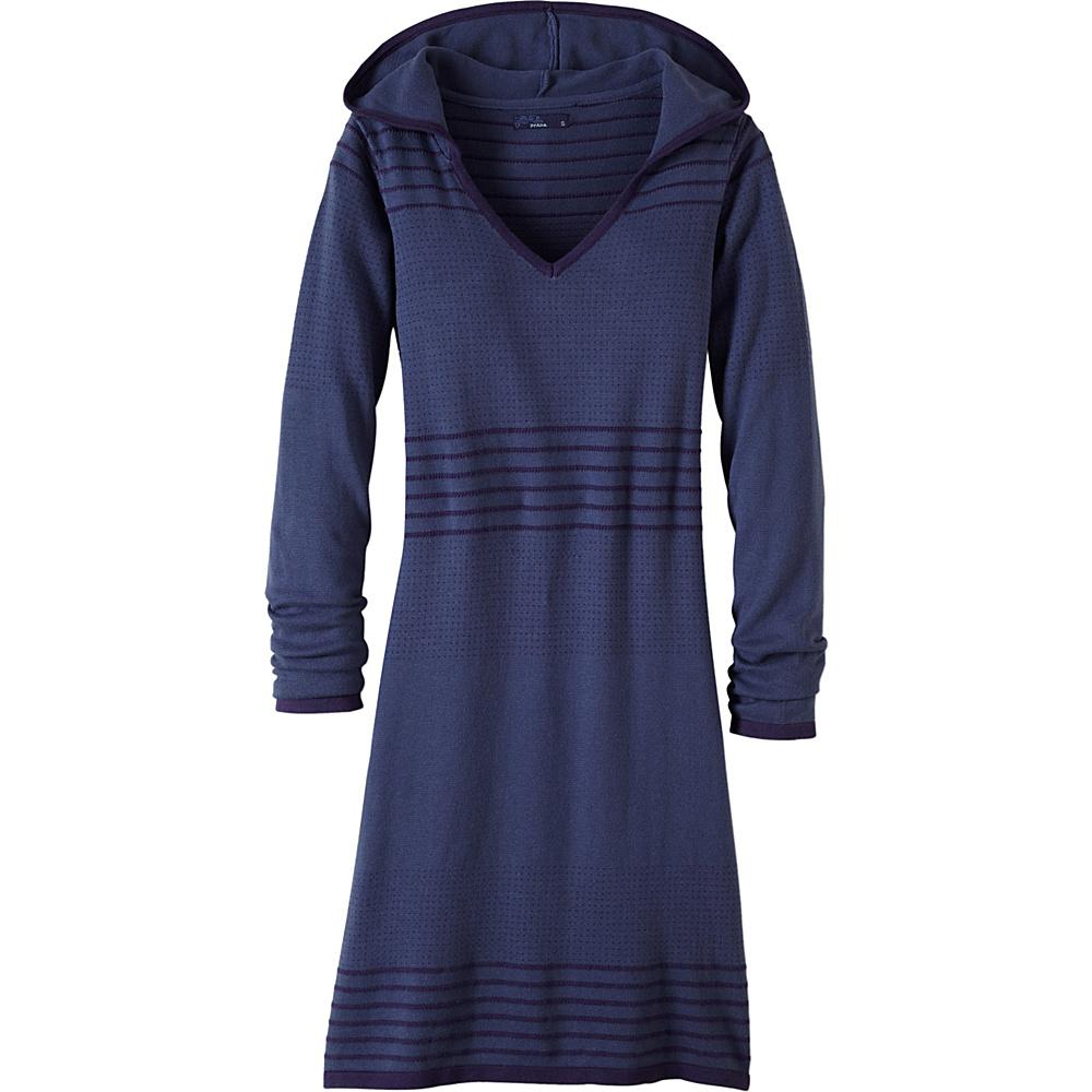 PrAna Mariette Dress M - Gray Indigo - PrAna Womens Apparel - Apparel & Footwear, Women's Apparel