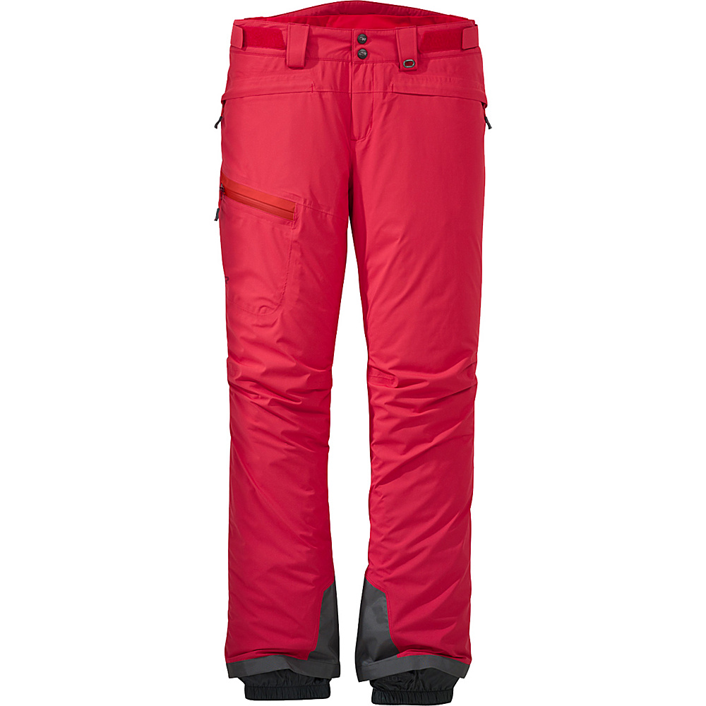 Outdoor Research Womens Offchute Pants S - Flame - Outdoor Research Womens Apparel - Apparel & Footwear, Women's Apparel