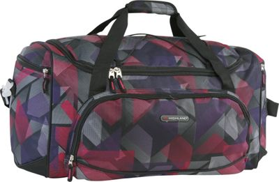 Pacific Coast Highland Women's Medium 22 inch Travel Duffel Bag Abstract - Pacific Coast Travel Duffels