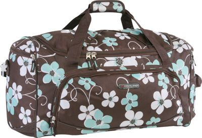 Pacific Coast Highland Women's Medium 22 inch Travel Duffel Bag Hawaiian Blue 2 - Pacific Coast Travel Duffels