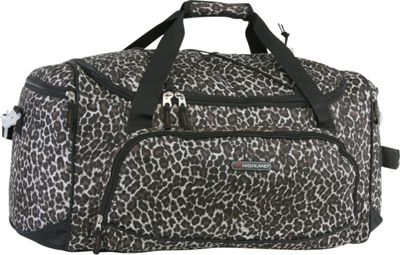 Pacific Coast Highland Women's Medium 22 inch Travel Duffel Bag Leopard Dense - Pacific Coast Travel Duffels
