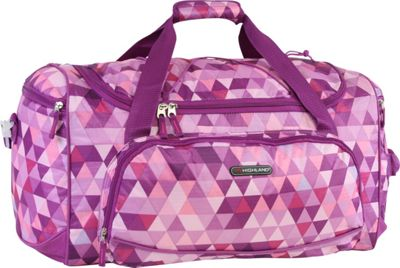 Pacific Coast Highland Women's Medium 22 inch Travel Duffel Bag Triangle Mix - Pacific Coast Travel Duffels