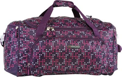 Pacific Coast Highland Women's Medium 22 inch Travel Duffel Bag Twinkle Star Purple - Pacific Coast Travel Duffels