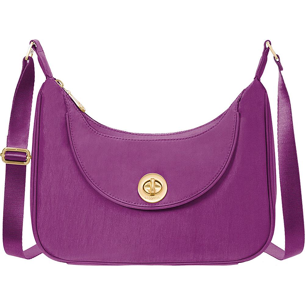baggallini Oslo Small Hobo - Retired Colors Magenta - baggallini Fabric Handbags - Handbags, Fabric Handbags