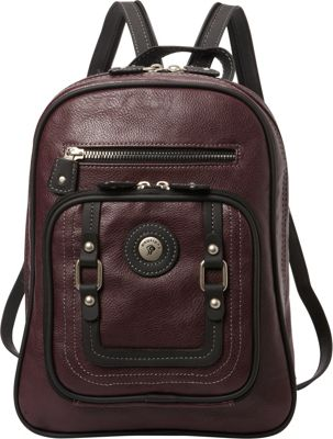 Mouflon Original RFID Generation Sling Backpack Wine/Black - Mouflon Original Manmade Handbags