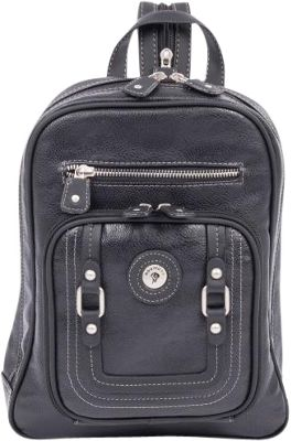 Mouflon Original RFID Generation Sling Backpack Black/Black - Mouflon Original Manmade Handbags