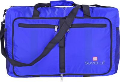 Suvelle Lightweight 21 inch Travel Foldable Duffel Bag Blue - Suvelle Travel Duffels