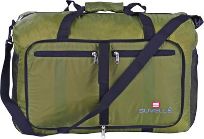 Suvelle Lightweight 21 inch Travel Foldable Duffel Bag Khaki - Suvelle Travel Duffels