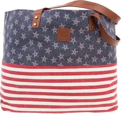 Bella Taylor Wide Tote Madison White - Bella Taylor Fabric Handbags