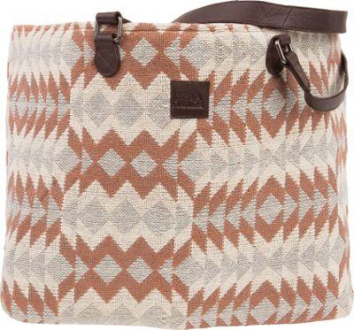 Bella Taylor Wide Tote Romy White - Bella Taylor Fabric Handbags