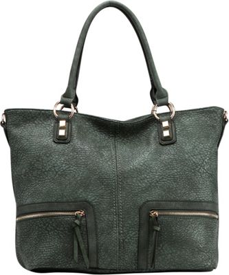 MKF Collection by Mia K. Farrow Madyson Shoulder Bag Green - MKF Collection by Mia K. Farrow Gym Bags