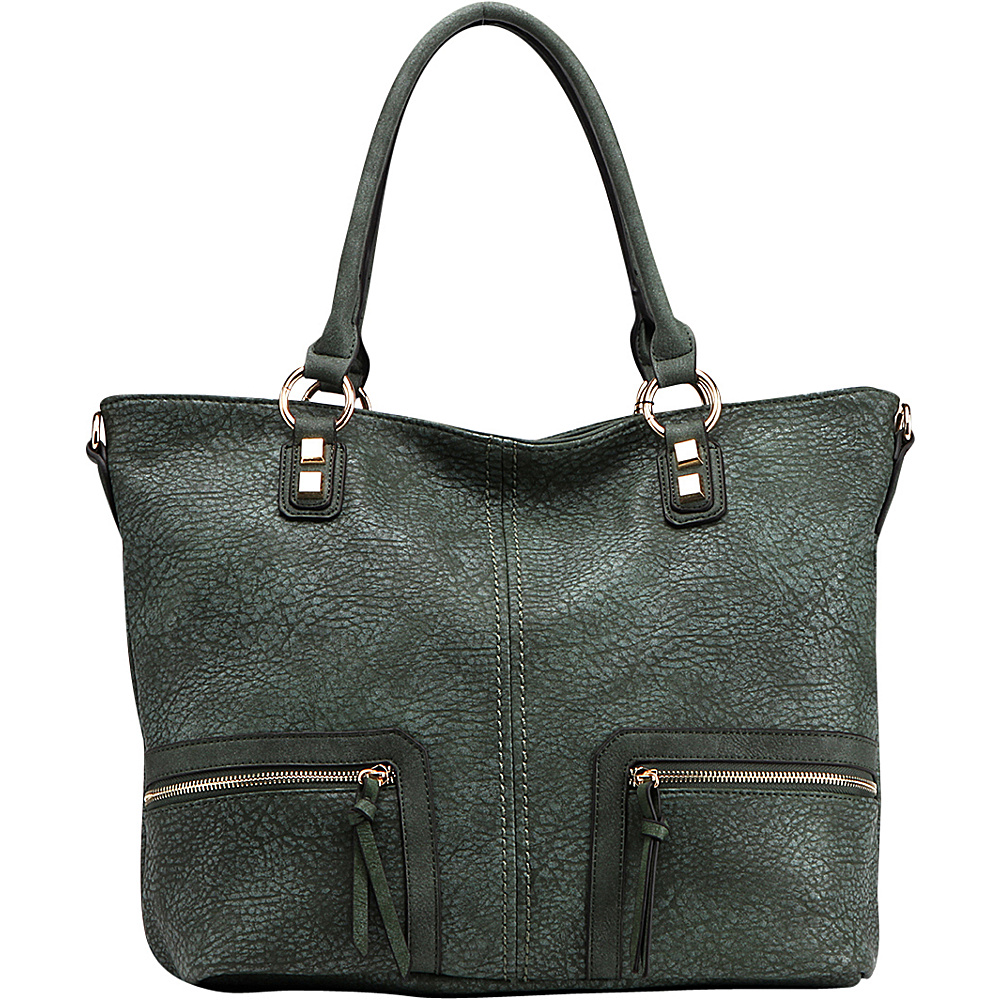 MKF Collection by Mia K. Farrow Madyson Shoulder Bag Green - MKF Collection by Mia K. Farrow Gym Bags - Sports, Gym Bags