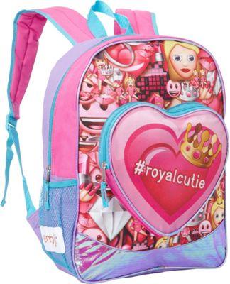 Emoji EmojiLand #royalcutie Backpack Pink - Emoji Everyday Backpacks
