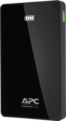 APC Mobile 10000 Li-Polymer Battery Power Pack Black - APC Portable Batteries & Chargers
