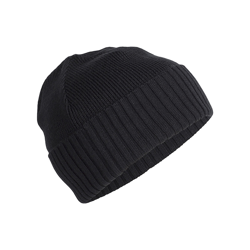 Icebreaker Adult Scout Beanie One Size - Black - Icebreaker Hats - Fashion Accessories, Hats