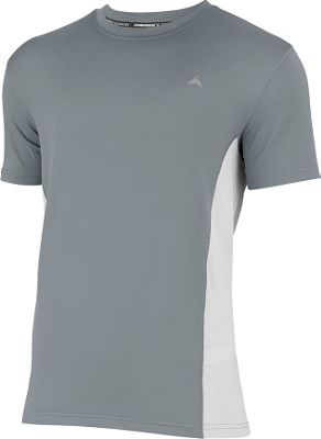 Arctic Cool Mens Instant Cooling Shirt with Mesh M - Storm Grey - Arctic Cool Men's Apparel