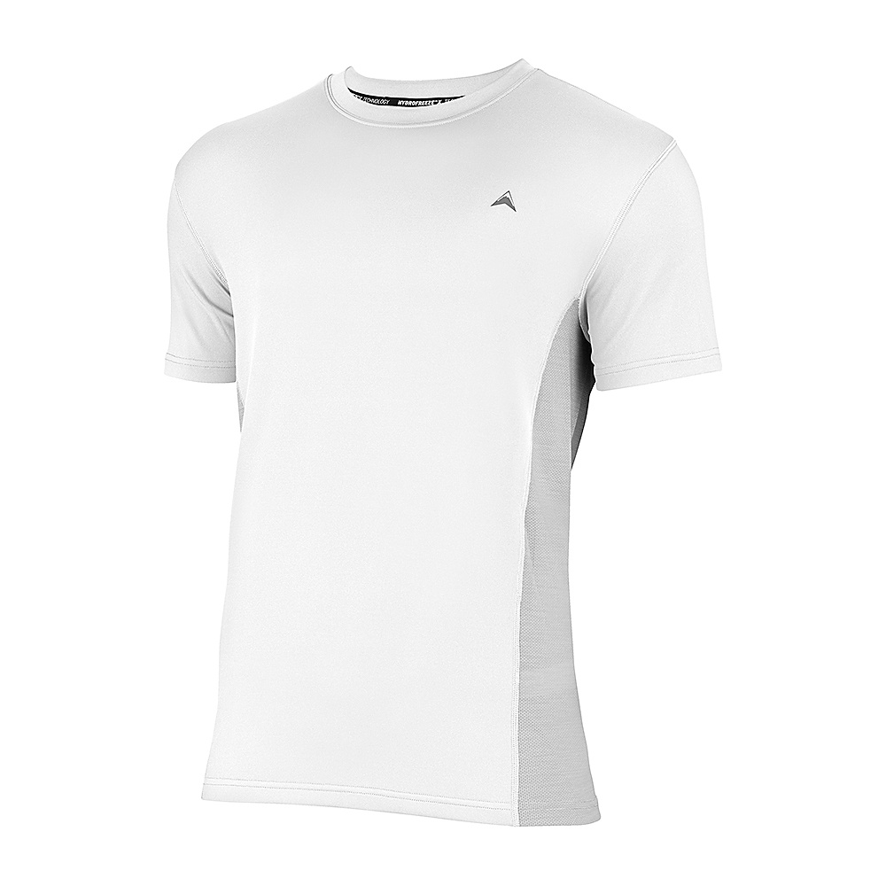 Arctic Cool Mens Instant Cooling Shirt with Mesh M Arctic White Arctic Cool Men s Apparel