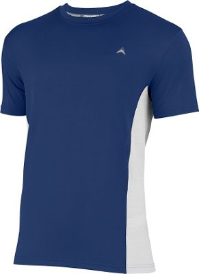 Arctic Cool Mens Instant Cooling Shirt with Mesh S - Midnight Blue - Arctic Cool Men's Apparel