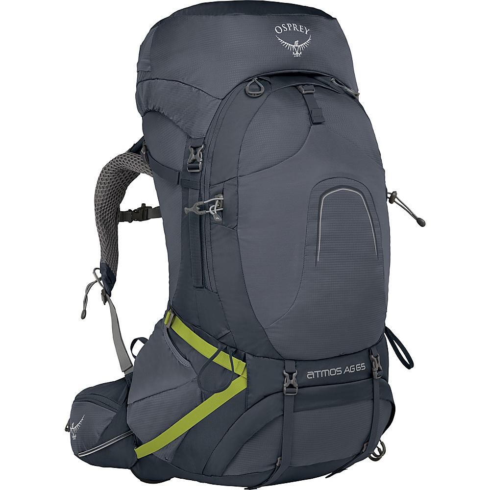 Osprey Atmos AG 65 Backpack Abyss Grey – SM - Osprey Backpacking Packs - Outdoor, Backpacking Packs