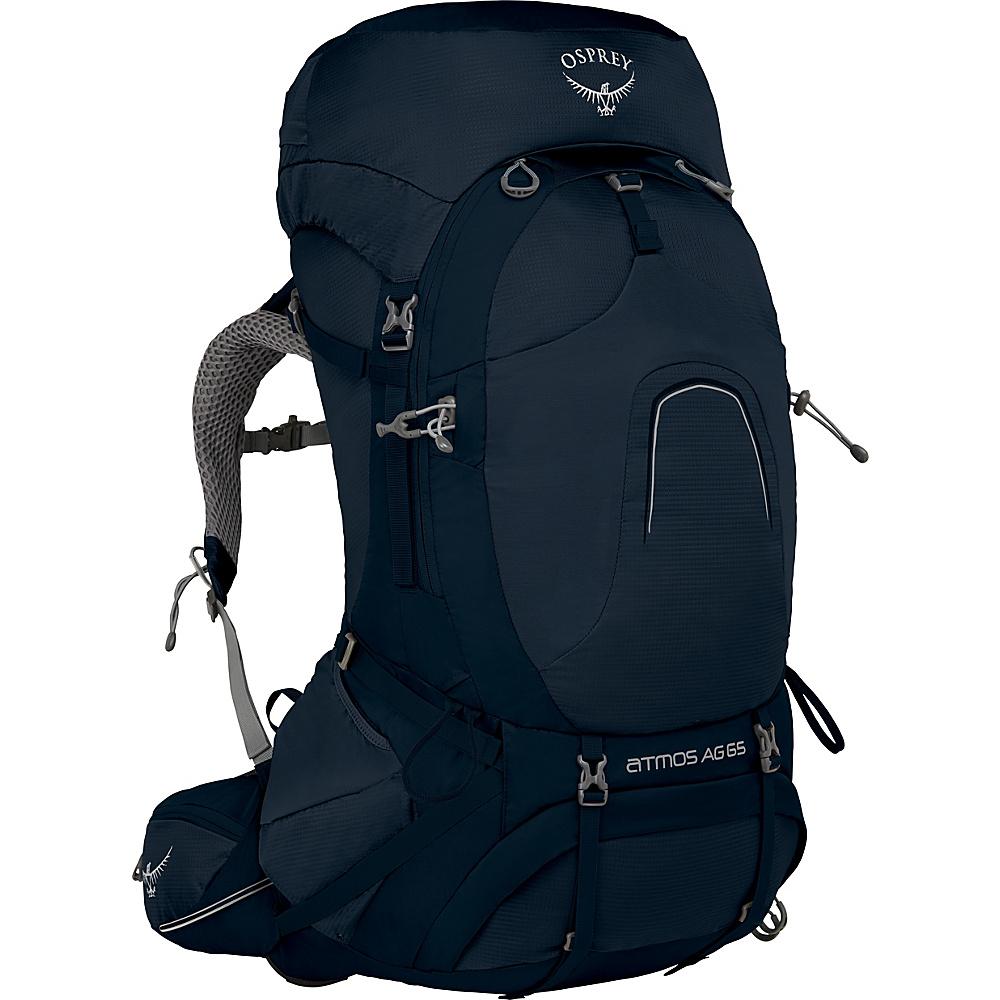 Osprey Atmos AG 65 Backpack Unity Blue – MD - Osprey Backpacking Packs - Outdoor, Backpacking Packs